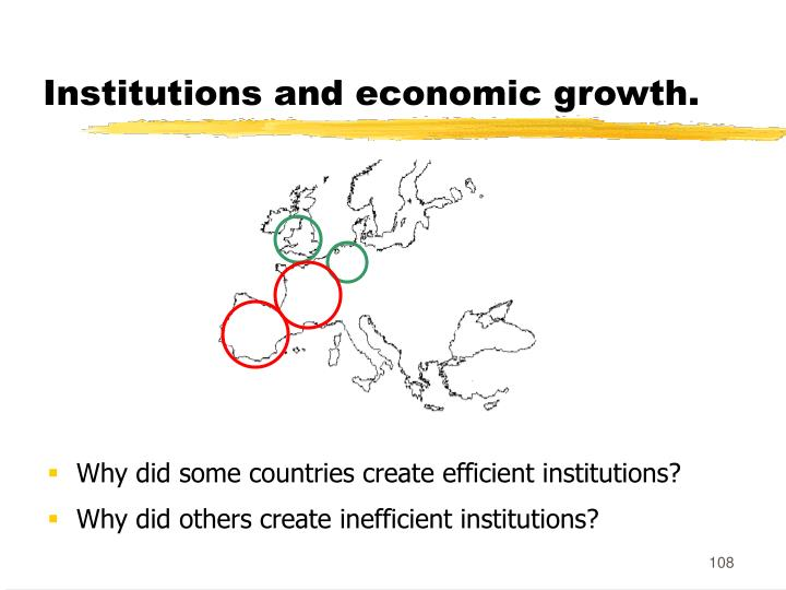 Institutions and economic growth.