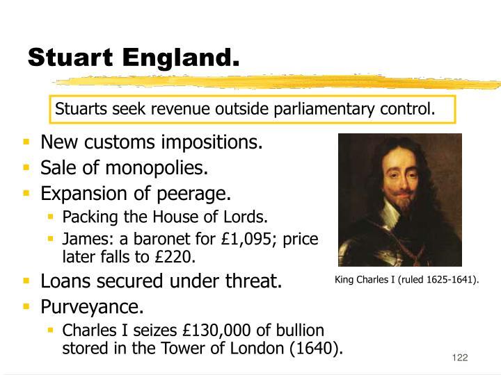 Stuart England.