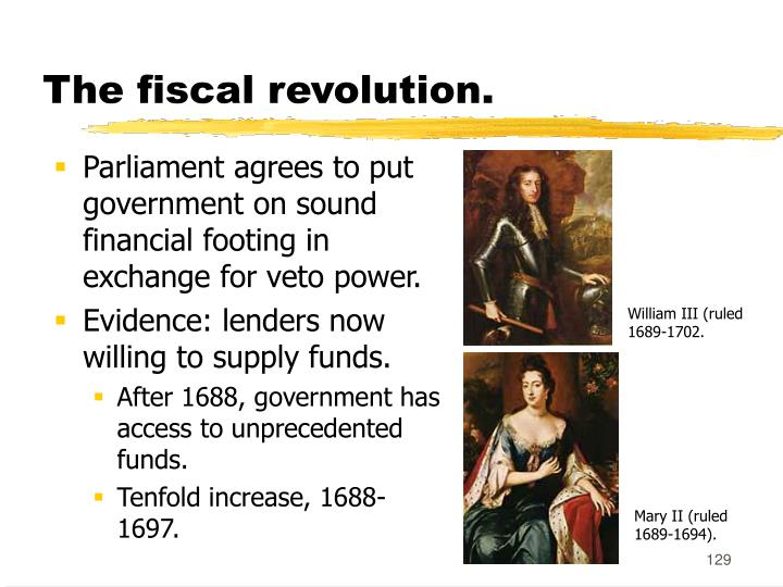The fiscal revolution.