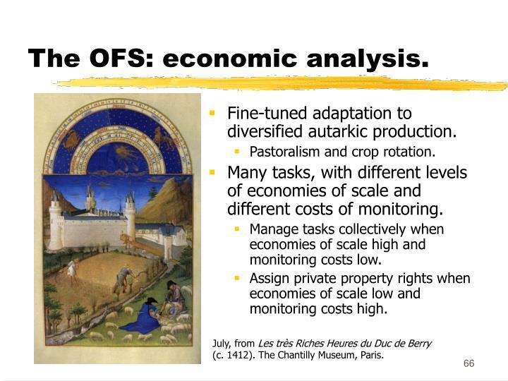 The OFS: economic analysis.
