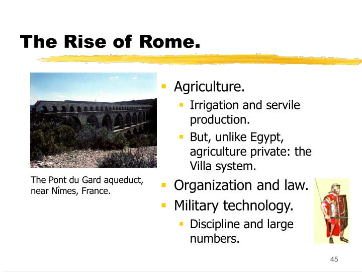The Rise of Rome.