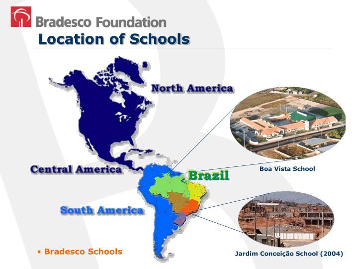 Location of Schools