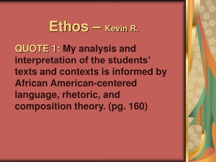 Ethos –