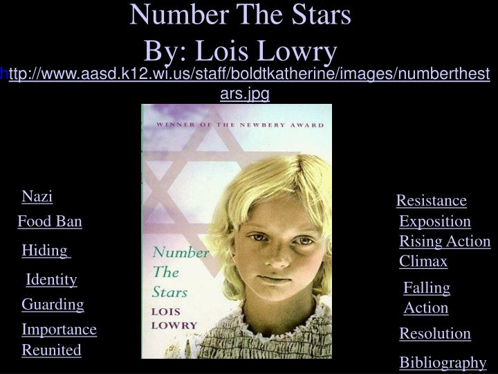 number the stars by lois lowry Number the stars by lois lowry available in hardcover on powellscom, also read synopsis and reviews this newbery medal book describes how a ten-year-old danish girl's bravery is tested when her best.