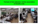 formed of first asbestos victims association in kyushu area1