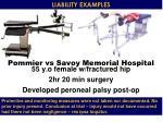 pommier vs savoy memorial hospital