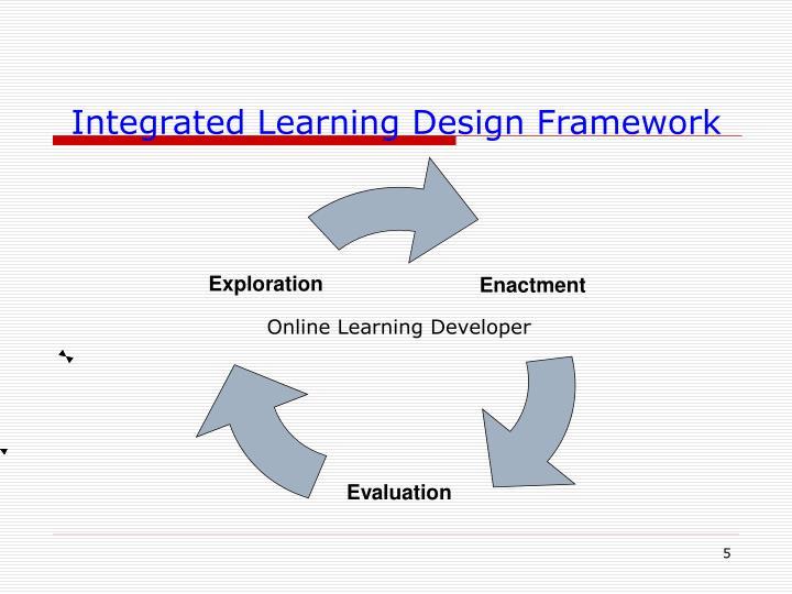 Integrated Learning Design Framework
