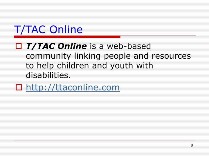 T/TAC Online