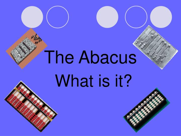 the abacus n.