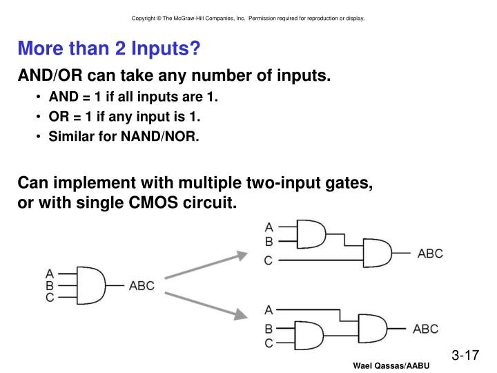 More than 2 Inputs?
