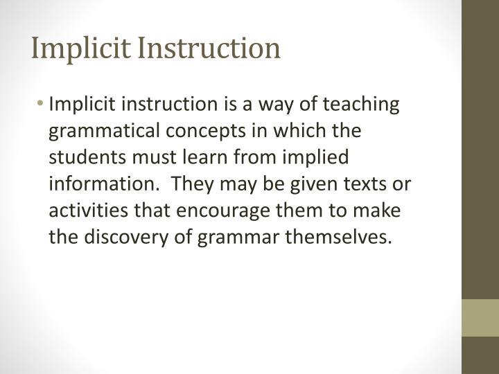 Ppt Methods For Grammar Teaching Powerpoint Presentation Id3864660