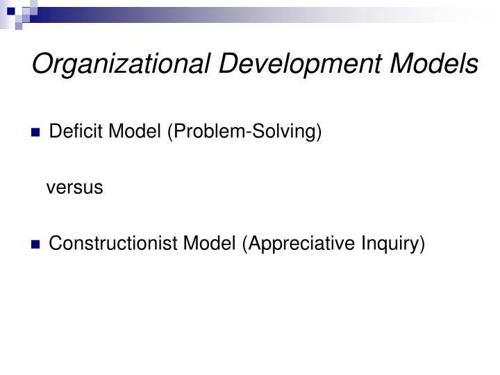 organizational development models