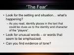 the fear1