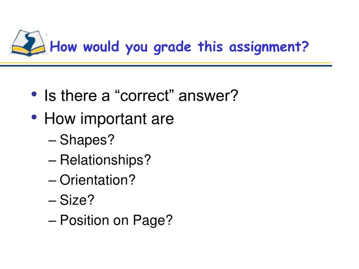 How would you grade this assignment?