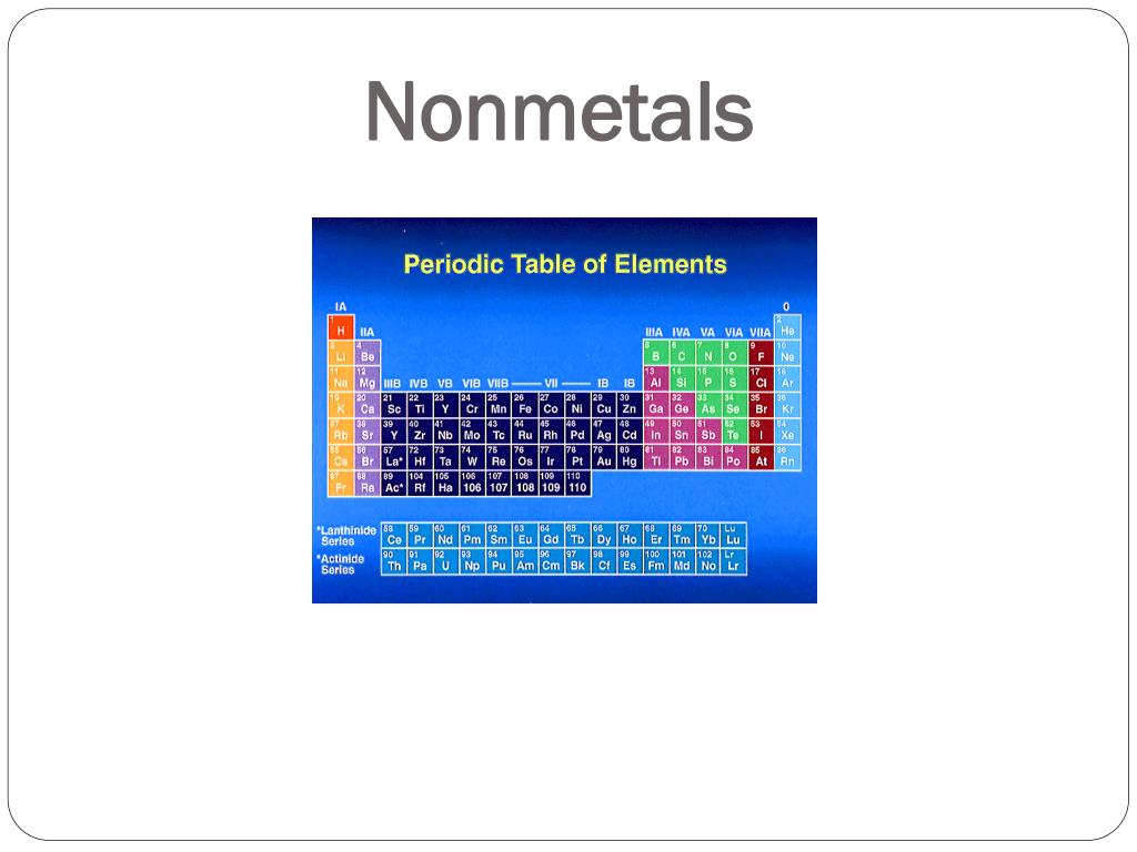 PPT - Properties of the Periodic Table PowerPoint