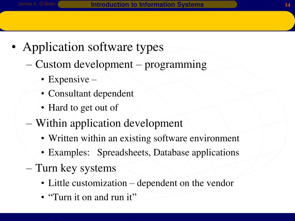 PPT - Computer Software PowerPoint Presentation - ID:3867184