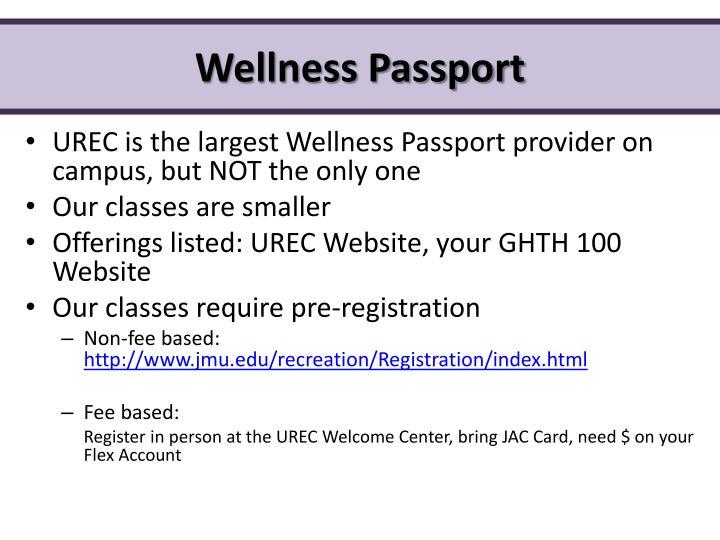 Wellness Passport