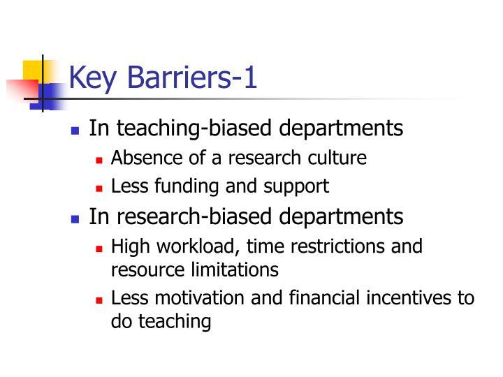 Key Barriers-1