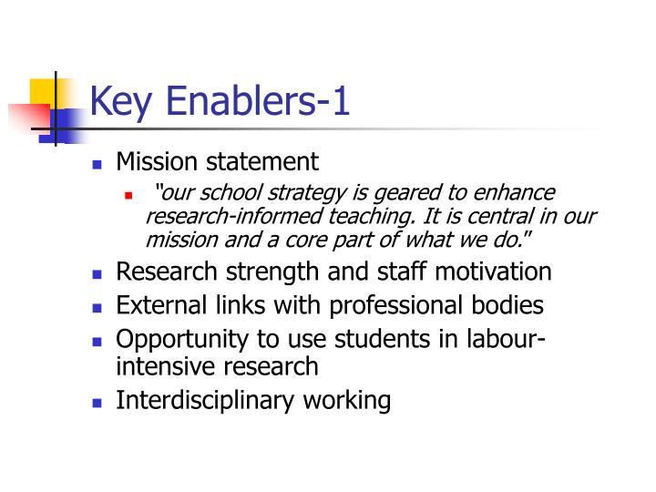 Key Enablers-1