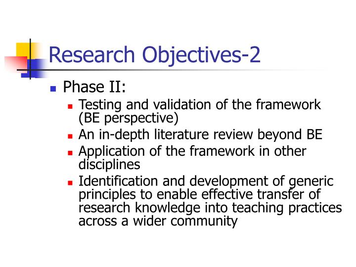 Research Objectives-2