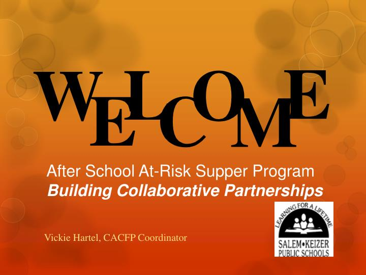 after school at risk supper program building collaborative partnerships n.