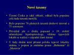 nov taxony