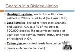 georgia in a divided nation1