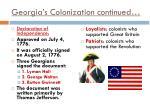 georgia s colonization continued2