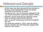 holocaust and georgia