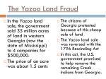 the yazoo land fraud