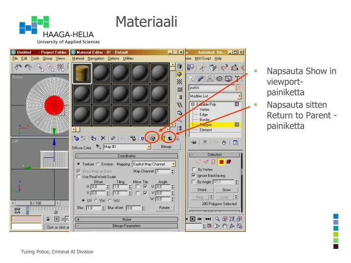Materiaali
