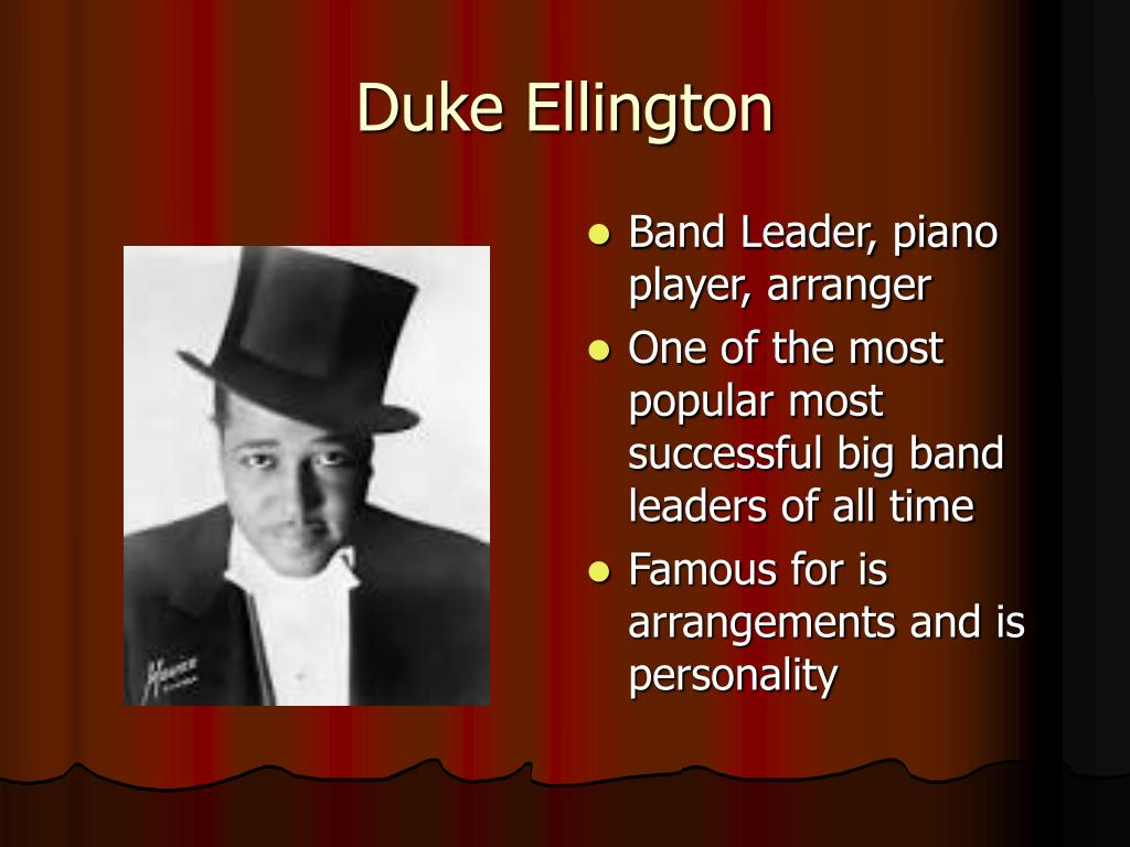 Ppt Big Band Era Powerpoint Presentation Free Download Id 3869364