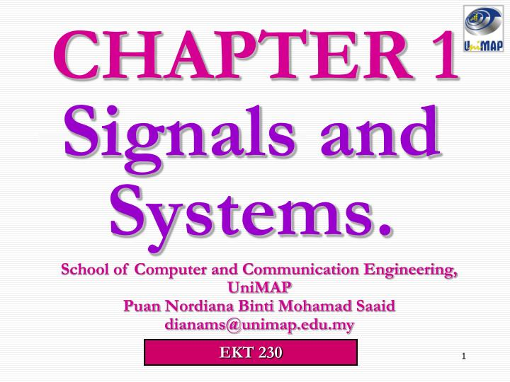 signals and systems n.