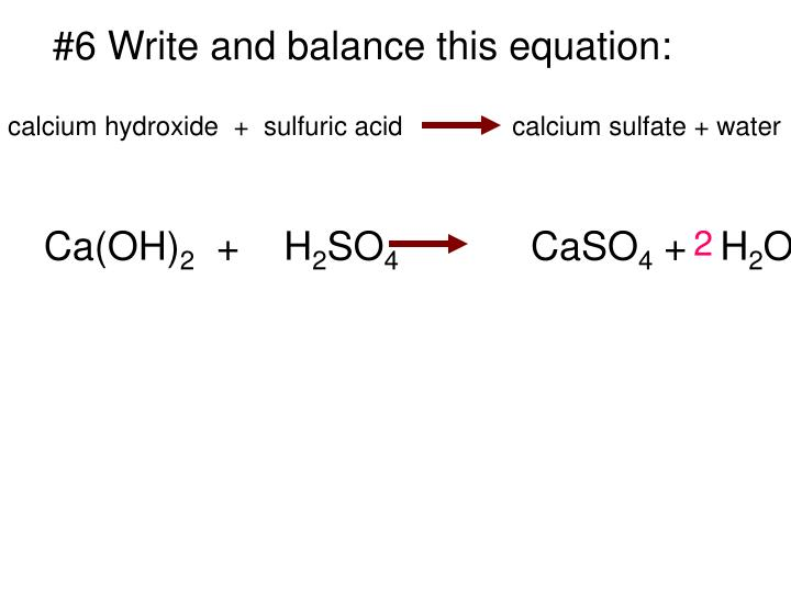 Ppt 1 Write A Sentence That Describes This Chemical Reaction