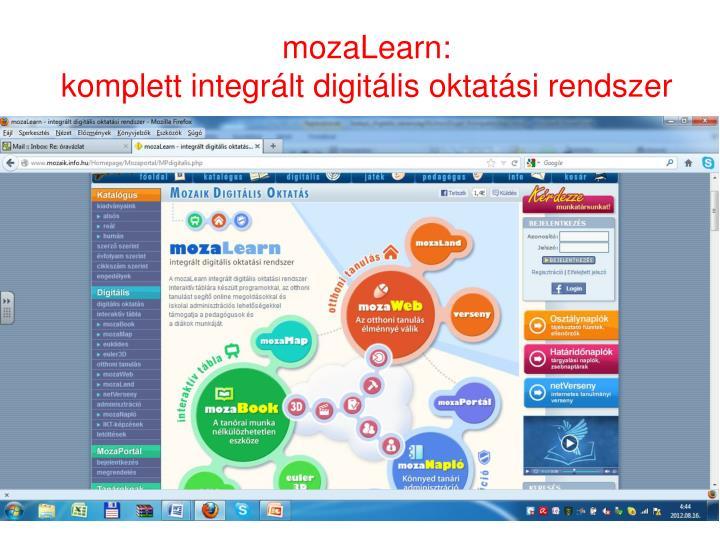 mozaLearn:
