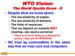 wto vision the world upside down ii