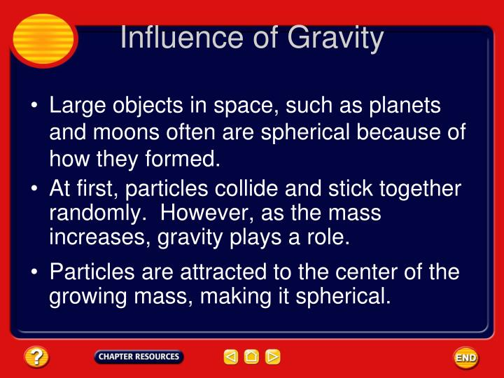 Influence of Gravity