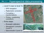 hyperspectral data processing1