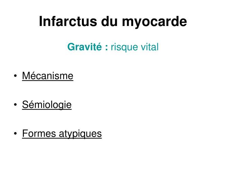 Infarctus du myocarde