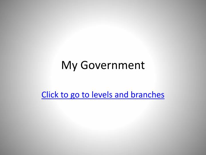 My government