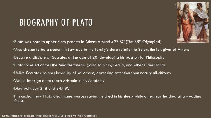 a biography and life work of plato on the topic of philosophy A beginner's guide to the philosophy of plato considering their lofty topics plato's dialogues can the republic is an interesting work because in it we.