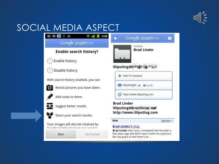 Social Media Aspect