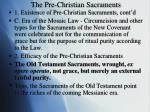 the pre christian sacraments1