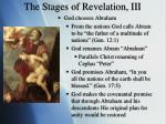 the stages of revelation iii