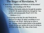 the stages of revelation v