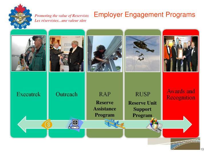 Employer Engagement Programs