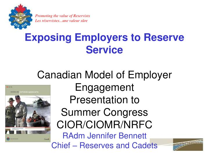 Exposing Employers to Reserve Service
