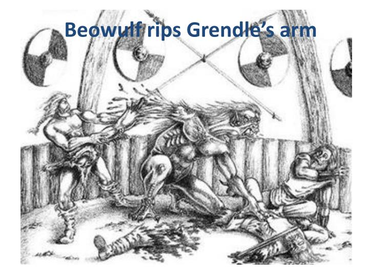 Beowulf rips Grendle's arm