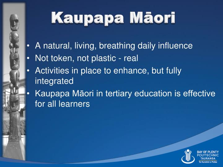 Kaupapa Māori