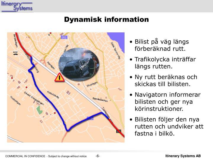 Dynamisk information